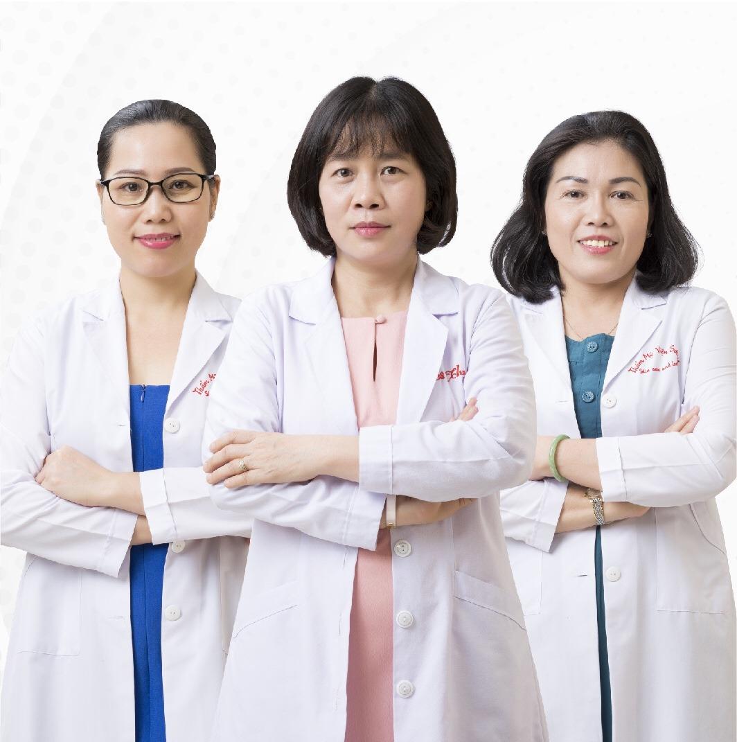đội ngũ bác sĩ chuyên khoa